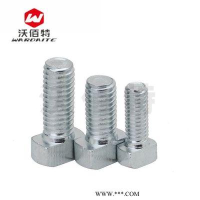 国标T型螺栓 锤头螺丝 工业铝型材配件螺杆连接件 30/40 M6 M8