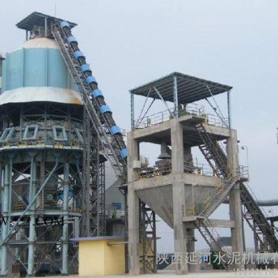 供应延河500-600t/d冶金石灰工艺设备竖式预热器+回转窑+竖式冷却机