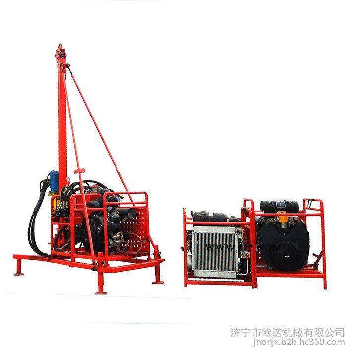 济宁山地钻机厂家 便捷式勘探山地钻机 潜孔钻机价格