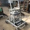 一机多用小型移动式免烧砖机 小型空心水泥移动制砖机