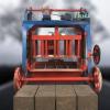 移动式制砖机 小型移动式制砖机 行走式空心砖砖机 免烧制砖机