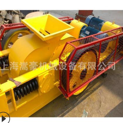 上海厂家直销大型2PG750*500对辊破碎机|锰钢耐磨对辊破碎机