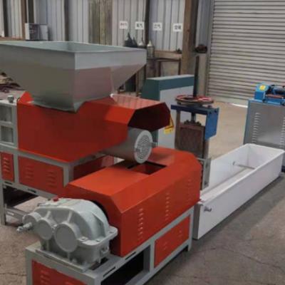 泡沫化坨机塑料再生颗粒机厂家 挤塑板挤粒机 冷压热熔块造粒机