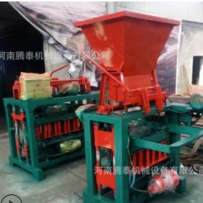 现货供应小型水泥免烧砖机 液压面包砖机 可定制多种模具
