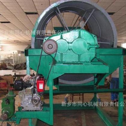 厂家滚筒式筛沙机 电动砂石颗粒分选机 全自动密封无轴滚筒筛分机
