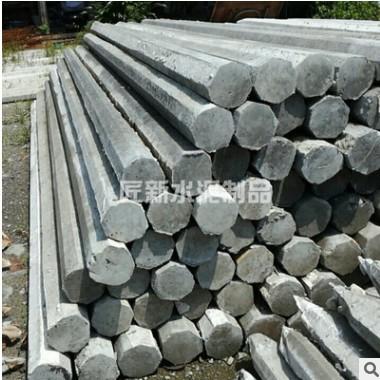 厂家供应八角水泥桩 一站式服务水泥制品 承接工程 水泥构件批发