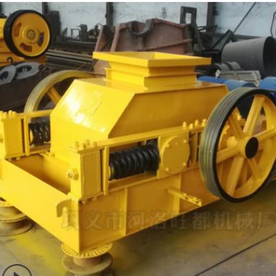 河南郑州厂家直销对辊破碎机 2PG500*400 制砂碎石用耐磨对辊机