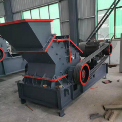 液压开箱制砂机 移动河卵石破碎制砂机 新型液压开箱反击式制砂机